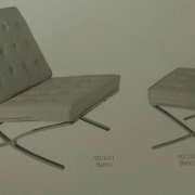 Кресло арт. 9076 +пуф арт. 9077